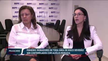 MPF pede celeridade na liberação do auxílio-moradia para os moradores do Pinheiro