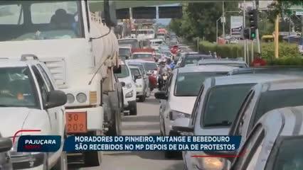 Moradores do Pinheiro, Mutange e Bebedouro são recebidos no MP depois de dias de Protestos