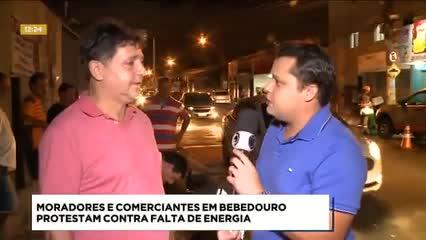 Bairro de Bebedouro ficou cerca de 8 horas sem energia