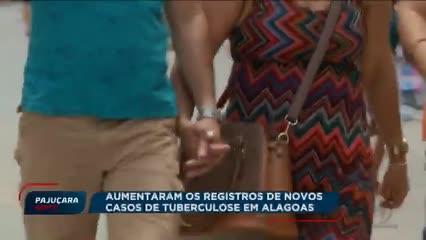 Aumentam os registros de novos casos de tuberculose em Alagoas