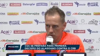 CSA e CRB se preparam para a primeira decisão do Campeonato Alagoano 2019