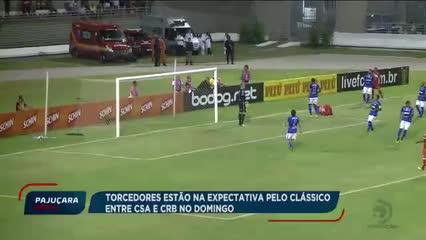 Futebol: Torcedores estão na expectativa pelo clássico entre CSA e CRB no domingo