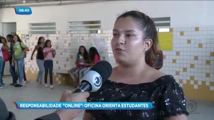 Estudantes de uma escola pública de Maceió participaram de uma oficina de fotografia