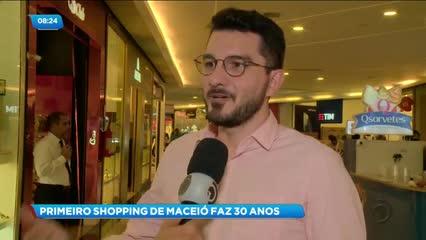 Primeiro shopping de Maceió completa 30 anos de fundação