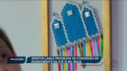 SEDETUR lança programa de concessão de microcrédito de até 15 mil reais