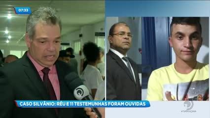 Foi realizada hoje, a audiência do caso Silvânio Barbosa