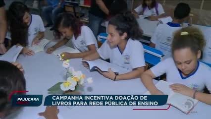 Campanha incentiva doação de livros para rede pública de ensino