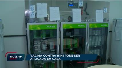 Vacina contra H1N1 pode ser aplicada em casa
