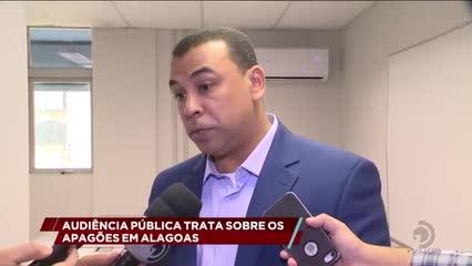 Audiência pública trata sobre os apagões em Alagoas