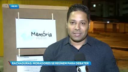 Moradores do Pinheiro, Mutange e Bebedouro se reuniram para discutir situação dos bairros