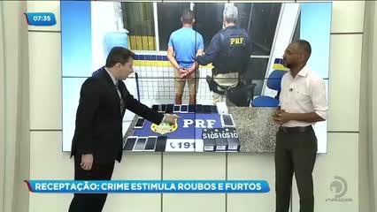 Segurança: Crime de receptação