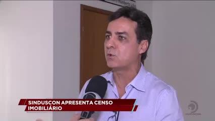Sinduscon apresenta Censo Imobiliário