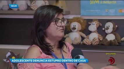 Adolescente denuncia estupro dentro de casa