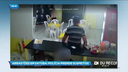 Polícia prende um dos suspeitos de arrastões na região metropolitana