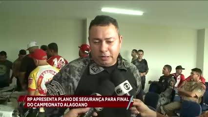 Radiopatrulha apresentou plano de segurança para jogo da final do Campeonato Alagoano 2019