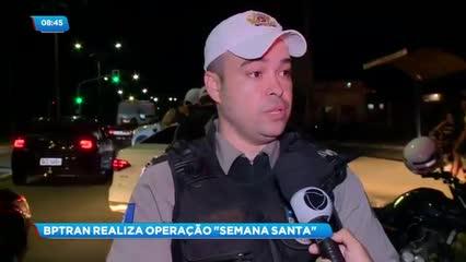 BPTran realiza a operação ''Semana Santa''