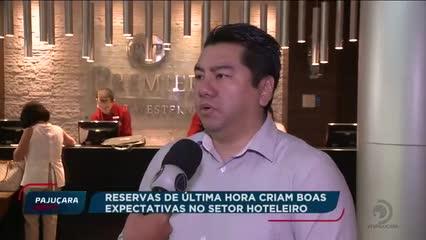 Reservas de última hora criam boas expectativas no setor hoteleiro