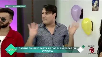 Cantor Elminho e Furacão Love participam das Alfinetadas do Ventura- Bloco 02
