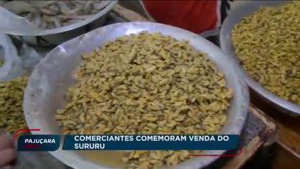 Comerciantes comemoram venda do Sururu