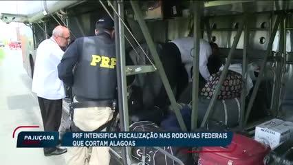 PRF intensifica  fiscalização nas rodovias federais que cortam Alagoas