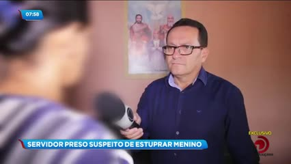 Homem foi preso acusado de estuprar um adolescente na cidade de Craíbas