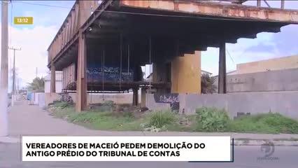 Vereadores pedem a demolição do antigo prédio do Tribunal de Contas da União