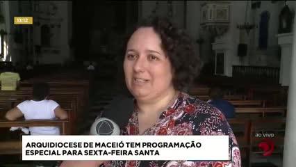 Arquidiocese de Maceió tem programação especial para Sexta-feira Santa