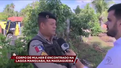 Corpo de mulher é encontrado na lagoa Manguaba, na Massagueira
