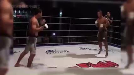 Alagoano sonha em participar do UFC