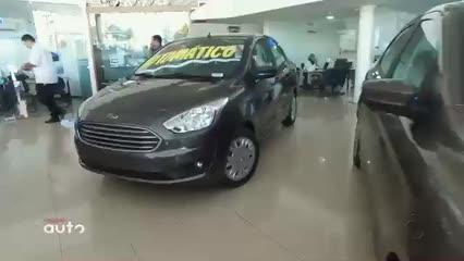 Minuto Ford: Novo Ford Ka 2019 agora com câmbio automático