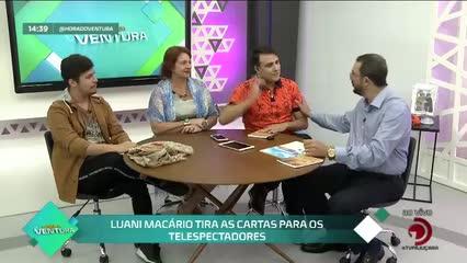 Luani Macário tira as cartas para os telespectadores - Bloco 02