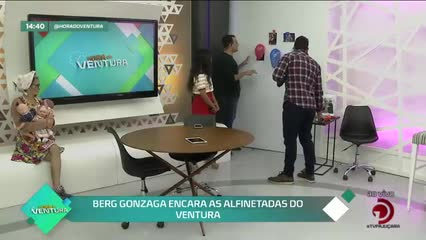 Berg Gonzaga encara as alfinetadas do Ventura - Bloco 02