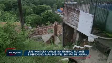 Órgãos federais estão monitoramento as chuvas em Maceió