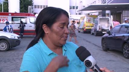 Mãe pede ajuda para custear tratamento de filho espancado por grupo de torcedores