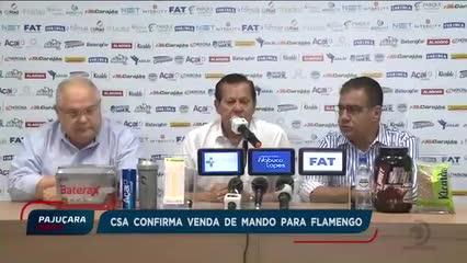 Polêmica no CSA: Presidente do clube confirma a venda do mando de campo do jogo contra o Flamengo