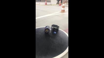 Competição de robótica Escola Sesi/Senai I