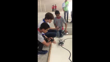 Competição de robótica Escola Sesi/Senai III