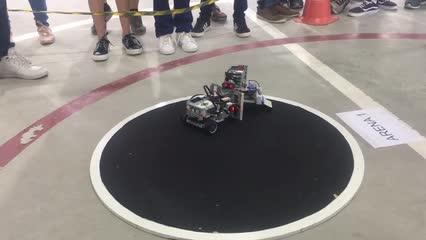 Competição de robótica Escola Sesi/Senai II