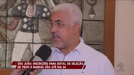 São João da Capital: Inscrições para edital de seleção de trios e bandas vão até dia 24