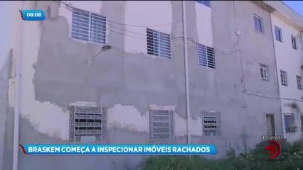 Braskem inicia inspeção de imóveis rachados no Pinheiro, Mutange e Bebedouro