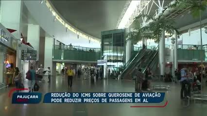 Governo de Alagoas pretende reduzir o ICMS do querosene de aviação