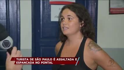 Turista de São Paulo foi assaltada e espancada no Pontal da Barra