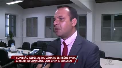 Comissão especial da Câmara se reúne para apurar informações com CPRM e Braskem