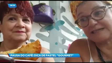 Pausa do Café: Dica de ''pastel Gourmet''