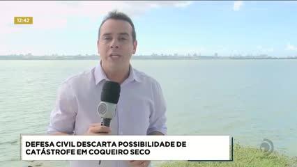 Defesa Civil descarta possibilidade de desastre no município de Coqueiro Seco