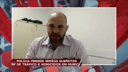 Polícia prendeu irmãos suspeitos de tráfico e homicídios em Murici