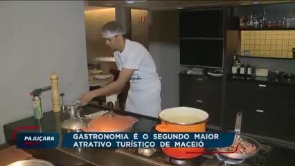 Gastronomia já é o segundo maior atrativo turístico de Maceió