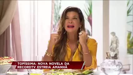 Topíssima: Nova novela da Recordtv estreia amanhã