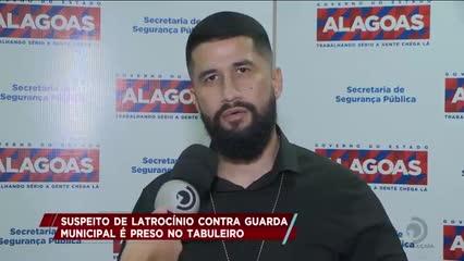 Homem foi preso suspeito de latrocínio