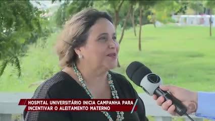 Hospital Universitário inicia campanha para incentivar o aleitamento materno